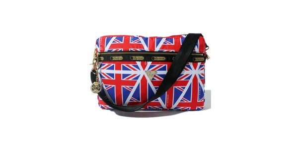 Obal na laptop s britskými vlajkami LeSportsac