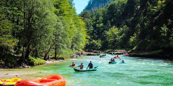 Dvojdňový dobrodružný rafting v rakúskych Alpách
