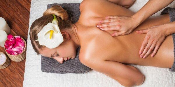 Klasická masáž chrbta a šije či celého tela s možnosťou rašelinového zábalu