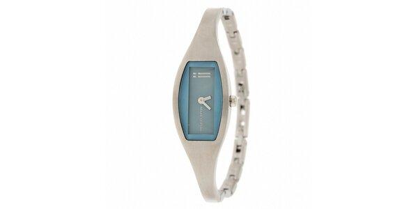 Dámske náramkové hodinky Marc O´Polo so svetlo modrými detailmi