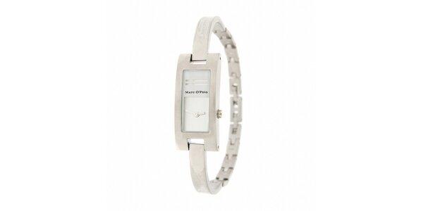 Dámske náramkové hodinky Marc O´Polo s bielymi detailmi