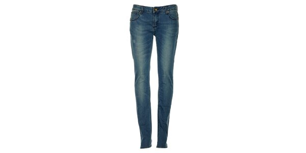 Dámske svetlo modré džínsy Exe