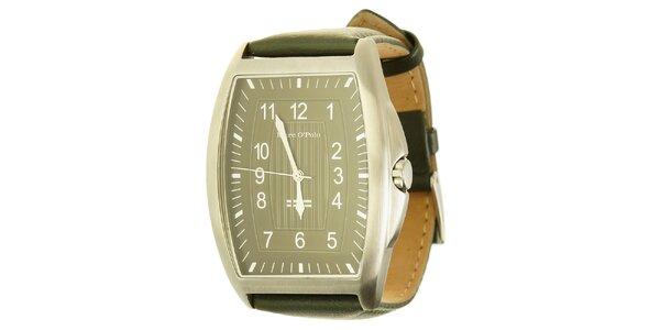 Pánske analogové hodinky so zeleným remienkom Marc O´Polo