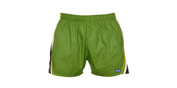 Pánske zelené plavky Exe