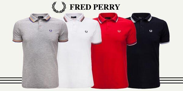 Legendárne pánske polokošele Fred Perry
