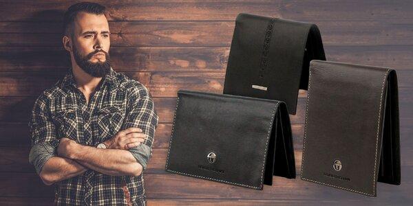 Značková pánska kožená peňaženka alebo organizér na doklady