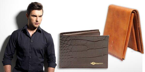 Pánska peňaženka Pierre Cardin z pravej kože - limitovaná ponuka!