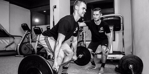 8 tréningov s trénerom v EfectFit, diagnostika pohybového aparátu…