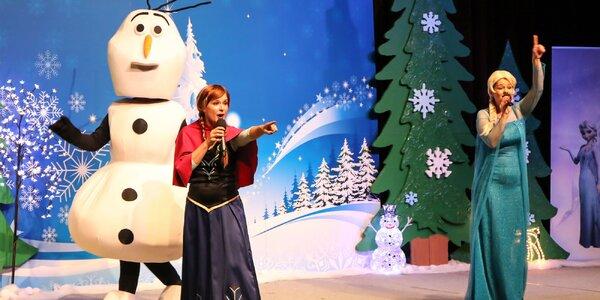 Vstupenka na hudobno-dramatický koncert na motívy Ľadového kráľovstva