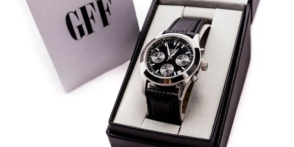 Elegantné pánske hodinky GFF CHRONOGRAPH