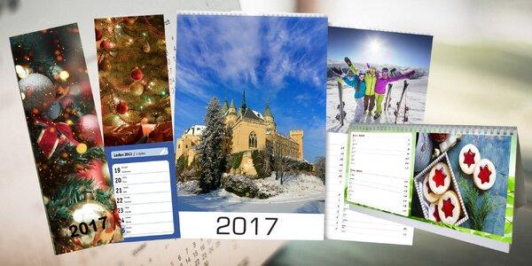 Nástenné, stolné a plánovacie kalendáre