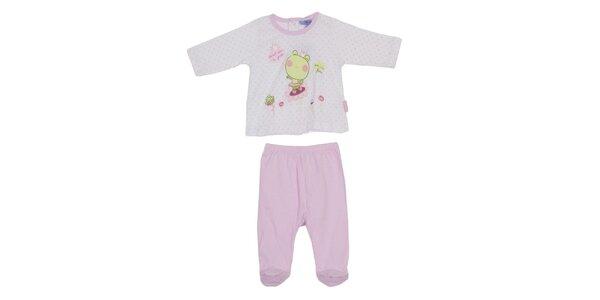 Detský ružový set nohavíc a trička Yatsi