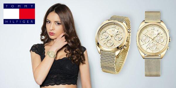 Luxusné dámske hodinky Tommy Hilfiger