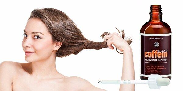 Šampón alebo tonikum proti vypadávaniu vlasov s kofeínom alebo hydratácia s…