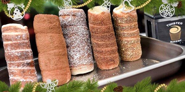 STREET FOOD na hrade! Klasické trdelníky z Twister bakery na vianočných trhoch!