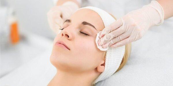 Ošetrenie pleti s masážou tváre, so Skin scrubberom či hĺbkové čistenie