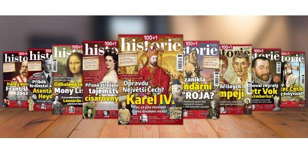 Predplatné časopisu 100+1 historie – ročník 2016