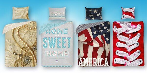 Bavlnené posteľné obliečky pre tie najsladšie sny - 4 motívy na výber