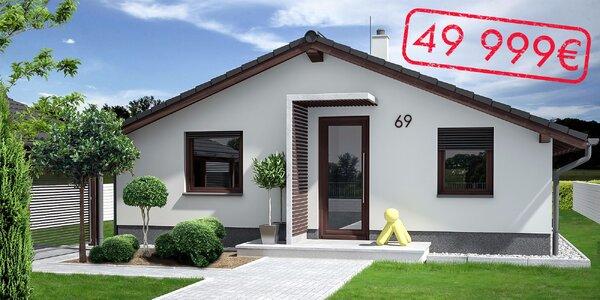 Rodinný dom Stilo alebo Class s kompletnou výstavbou do 75 dní!