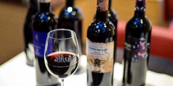 Degustácia vín so sommelierom zo Španielska