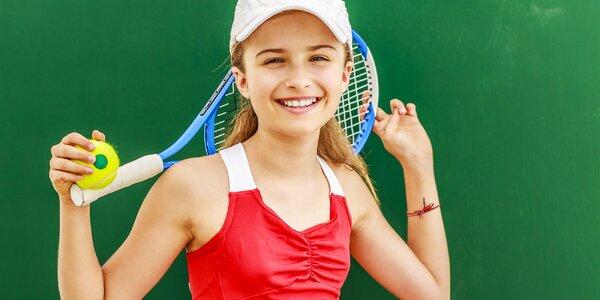 Mesačný tenisový kurz pre deti od 3 do 10 rokov