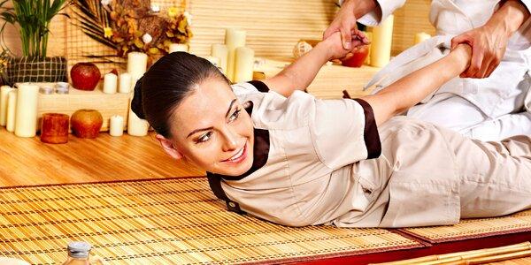 Thajská alebo uvoľňujúca olejová aroma masáž. TIP na darček!