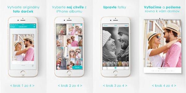 Zľava na nákup fotoknihy, fotokalendára alebo fotoobrazu cez aplikáciu pre iOS…