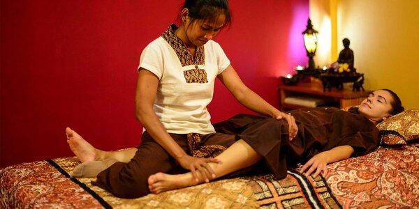 Thajská klasická masáž alebo thajský mix od pravej Thajky