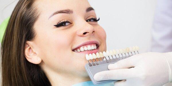 Certifikované bielenie zubov na prírodnej báze - stačí jedno sedenie!