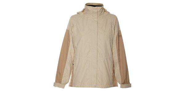Dámka krémovo-bežová bunda Northland Professional s fleecovou vložkou