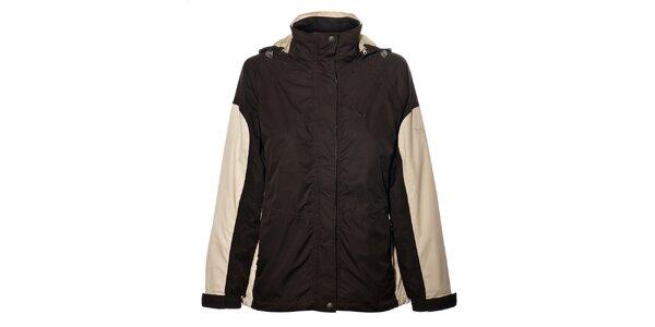 Dámka tmavo hnedá bunda Northland Professional s fleecovou vložkou