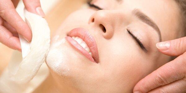 Liftingové ošetrenie s masážou tváre