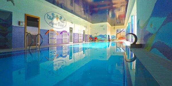 Wellness pobyt pri Bojniciach v Relax centre Aqua Vital s neobmezeným vstupom…