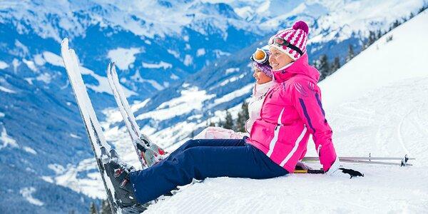 Lyžiarska dovolenka v rakúskych Alpách v hoteli priamo na svahu s polpenziou a…