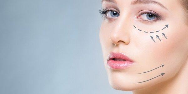 Lifting očného okolia alebo okolia úst či balíček ošetrení proti starnutiu