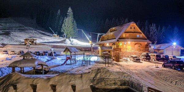 SKI & wellness vianočný alebo silvestrovský pobyt v SKI ZÁBAVA Hruštín