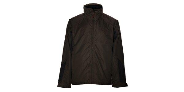 Pánska hnedo-čierna bunda Northland Professional s fleecovou vložkou