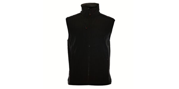 Pánska čierna softshellová vesta Northland Professional
