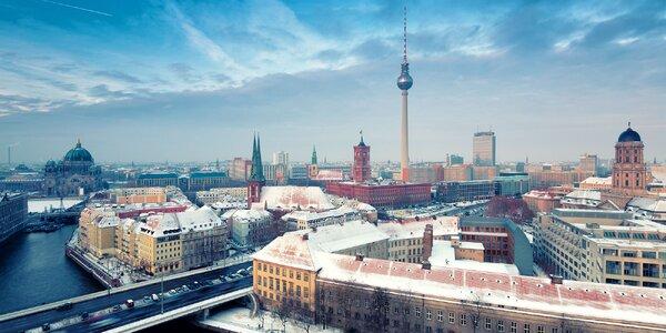 Dovolenka v Berlíne! Ubytovanie aj s raňajkami priamo v centre!