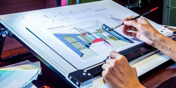 3-hodinové workshopy interierového dizajnu v Škole dizajnu