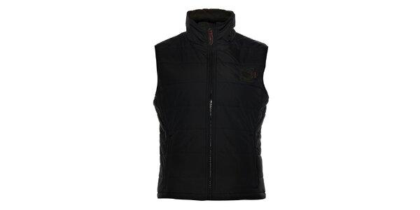 Pánska čierna prešívaná vesta Northland Professional
