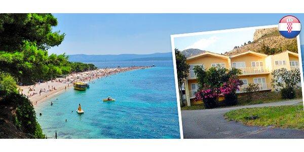 Letná dovolenka na Makarskej riviére s polpenziou