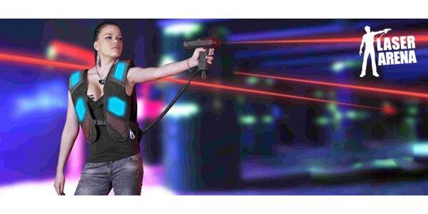 Laser game v Laser Arena