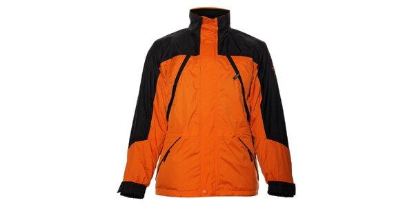 Pánska oranžová bunda Northland Professional s fleecovou vložkou