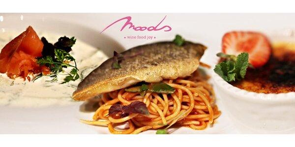 Tasting menu alebo grécky šalát a fresh