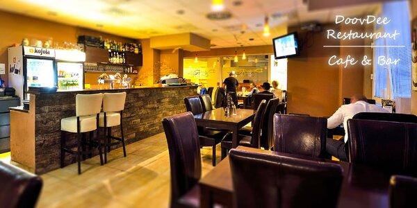 Otvorený voucher na konzumáciu jedla a nápojov v hodnote 30 € v reštaurácii…