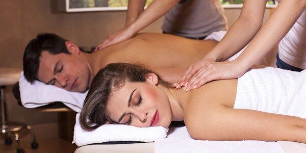 Hodinová olejová aroma masáž so zábalom alebo masážou chodidiel