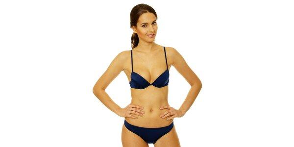 Dámske tmavo modré bikini Gianfranco Ferré