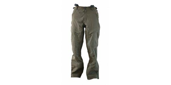 Pánske športové khaki nohavice Fundango s membránou