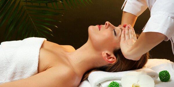 Relaxačná, rumová alebo kokosová masáž či bankovanie